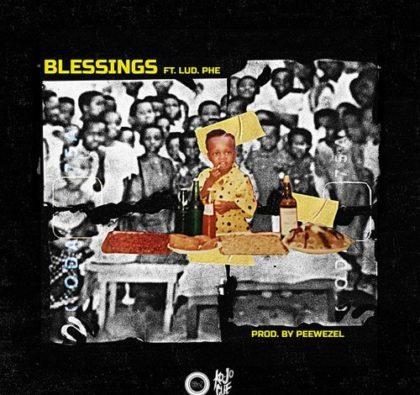 Ko-Jo Cue – Blessings ft. Lud Phe (Prod. by Peewezel)