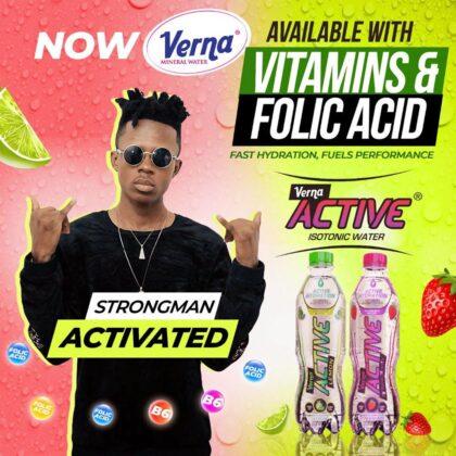 Strongman – Verna Active (Prod. by TubhaniMuzik)