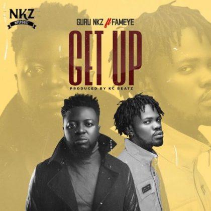 Guru – Get Up ft. Fameye (Prod by KC Beatz)