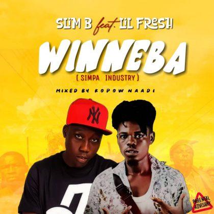 Slim B – Winneba ft Lil Fresh [Simpa Industry] (Mixed by Kopow Naadi)