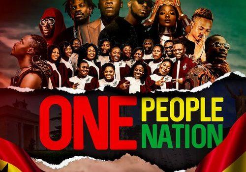 Stonebwoy — One People One Nation ft. King Promise, Fancy Gadam, Fameye, Efya, Teephlow, Maccasio, Darkovibes & Bethel Revival Choir