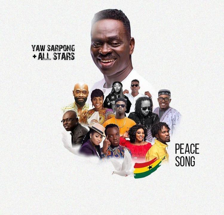 Yaw Sarpong – Peace Song Ft. Kuami Eugene, Fameye, Akwaboah, Joyce Blessings, Wutah Afriyie, Eno Barony, Kofi Sarpong, Pat Thomas, Lord Morgan & Dr Pounds