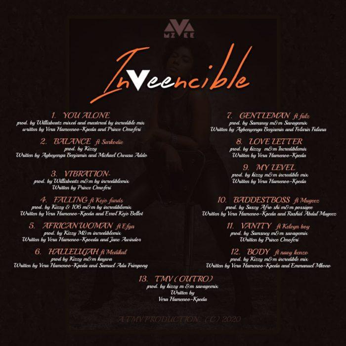 MzVee-–-InVeencible-(Full-Album)-tracklist