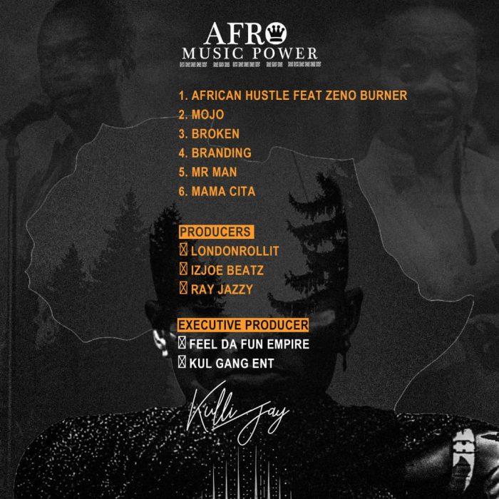 Kulli Jay – Afro Music Power tracklist