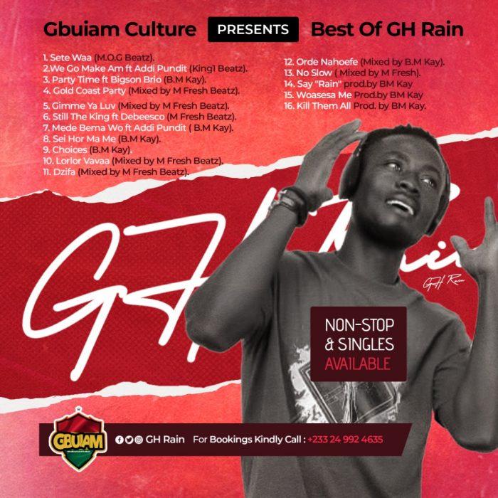Best Of GH Rain {Songs}