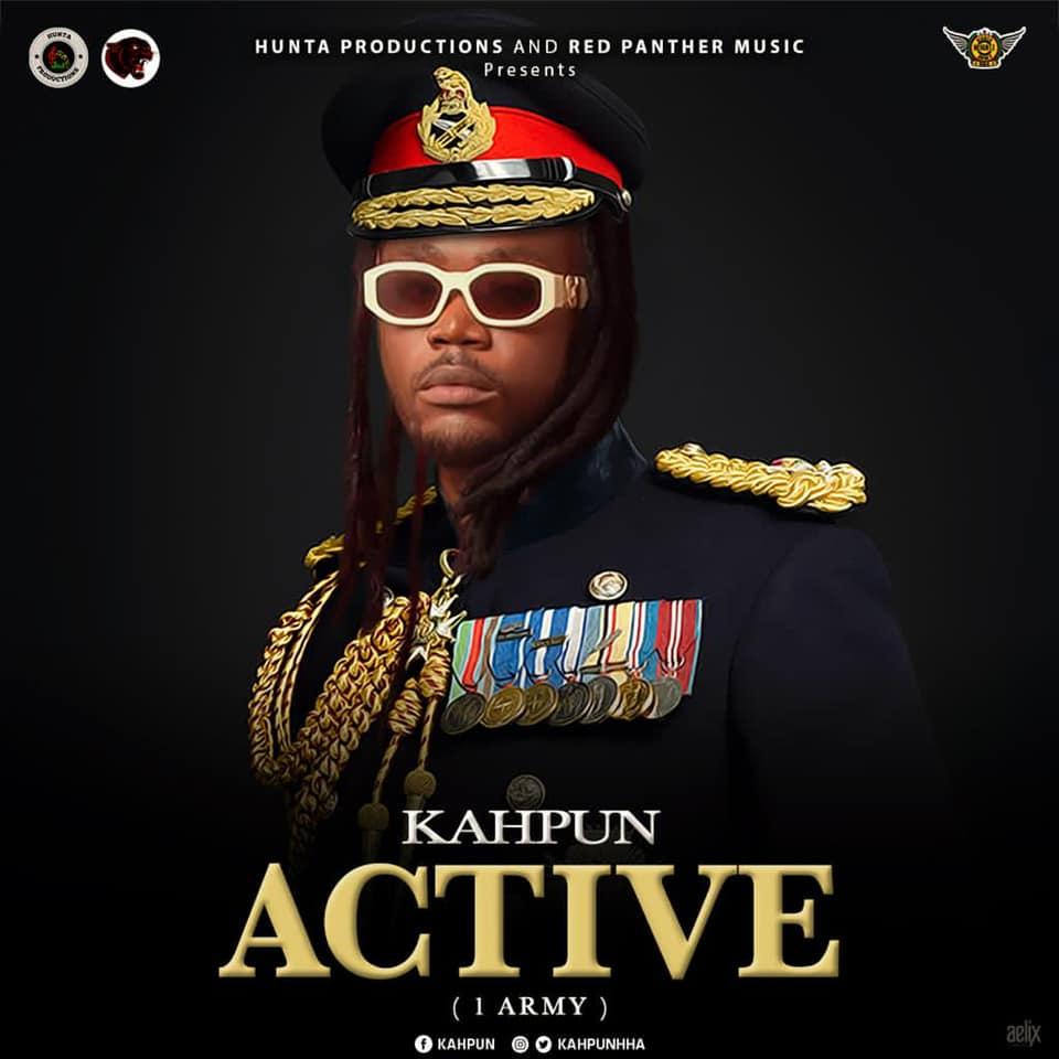 Kahpun – Active (1Army) (Prod By ABE Beatz)