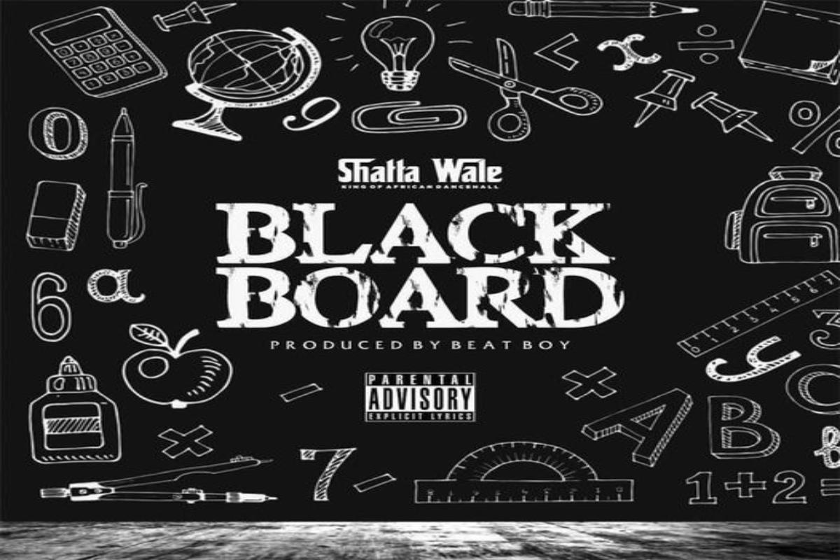 Shatta Wale – Blackboard (Samini Diss) (Prod. by Beat Boy)