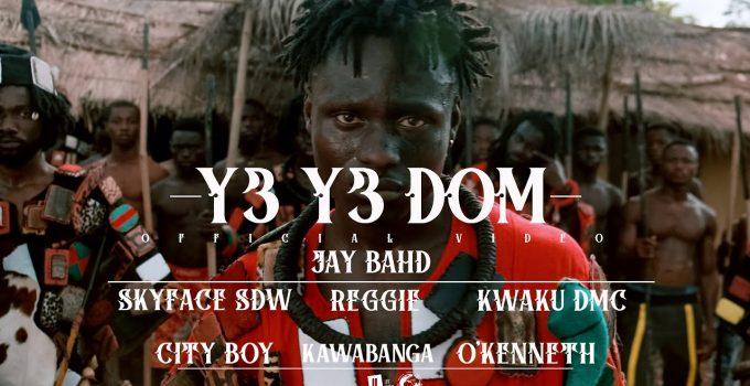 Jay Bahd - Y3 Y3 DOM ft Skyface SDW,Reggie,Kwaku DMC,City Boy,Kawabanga & O'Kenneth (Official Video)