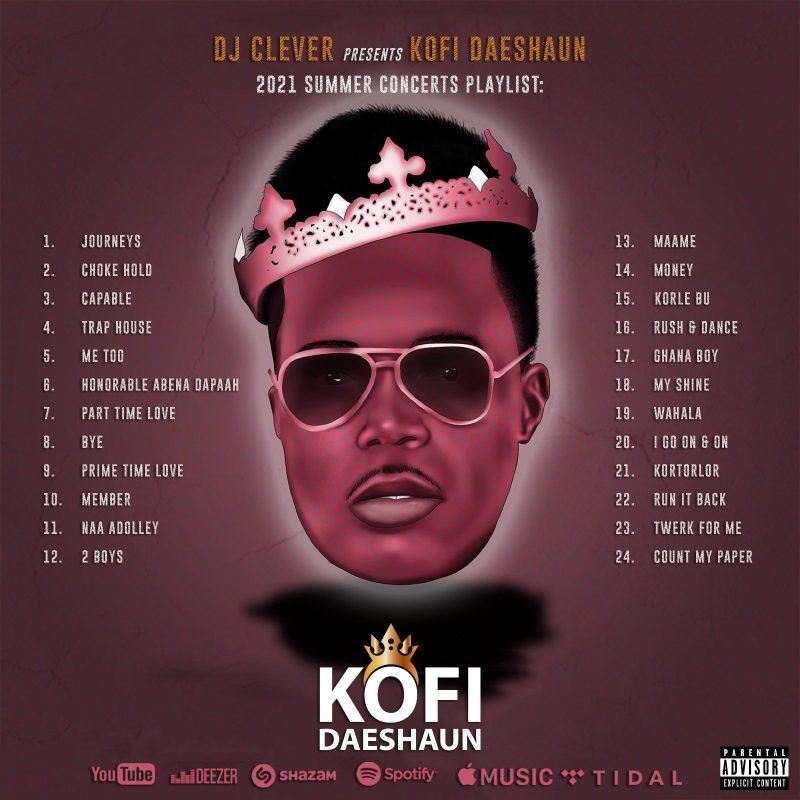 Kofi Daeshaun - DJ CLEVER Presents Kofi Daeshaun