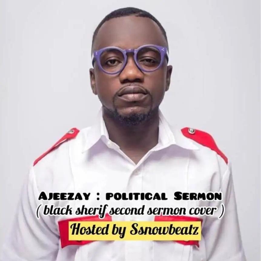Ajeezay - Political Sermon (2nd Sermon Cover)